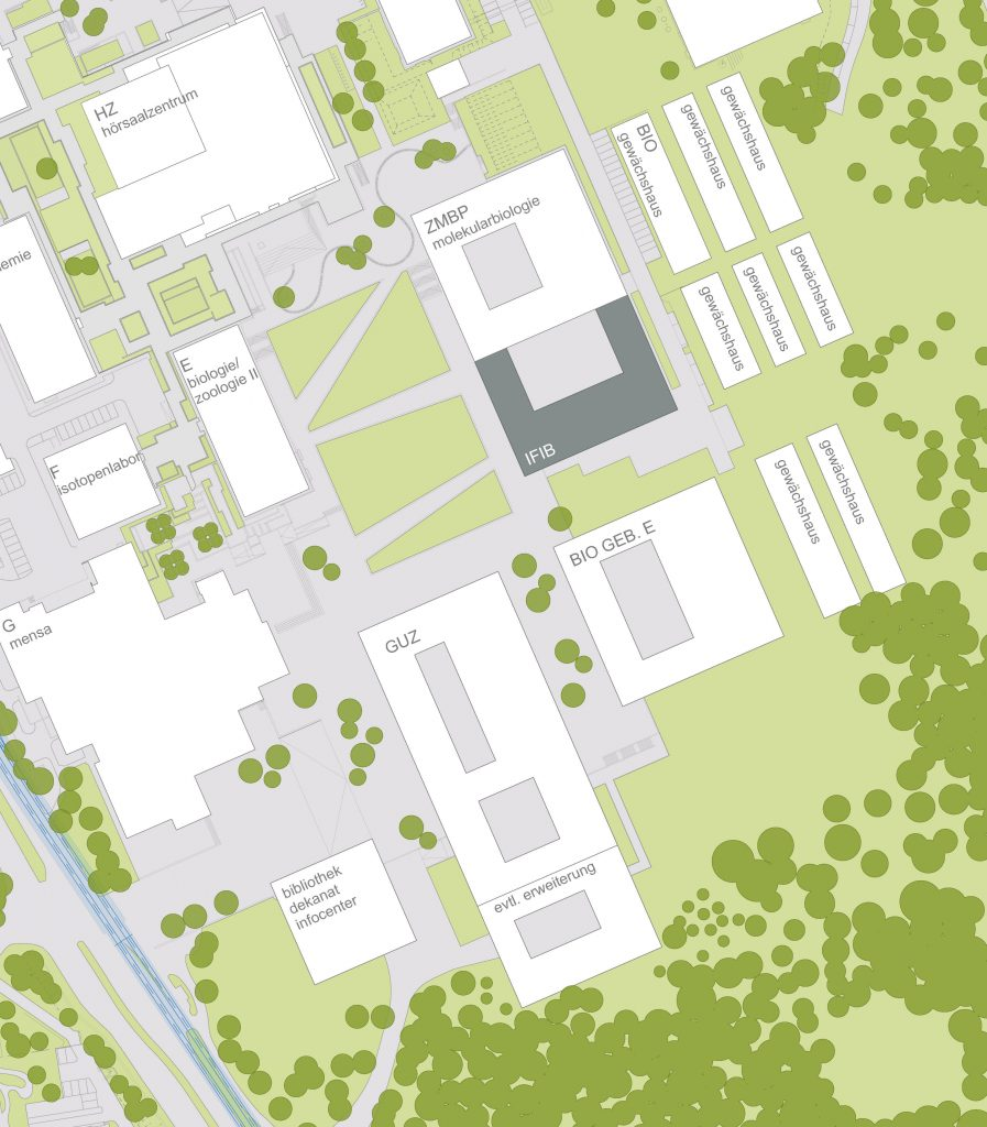 Architectural plan for Campus Morgenstelle.